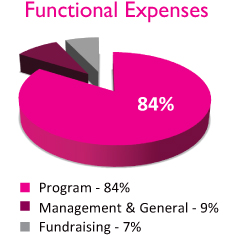 Functional Expenses